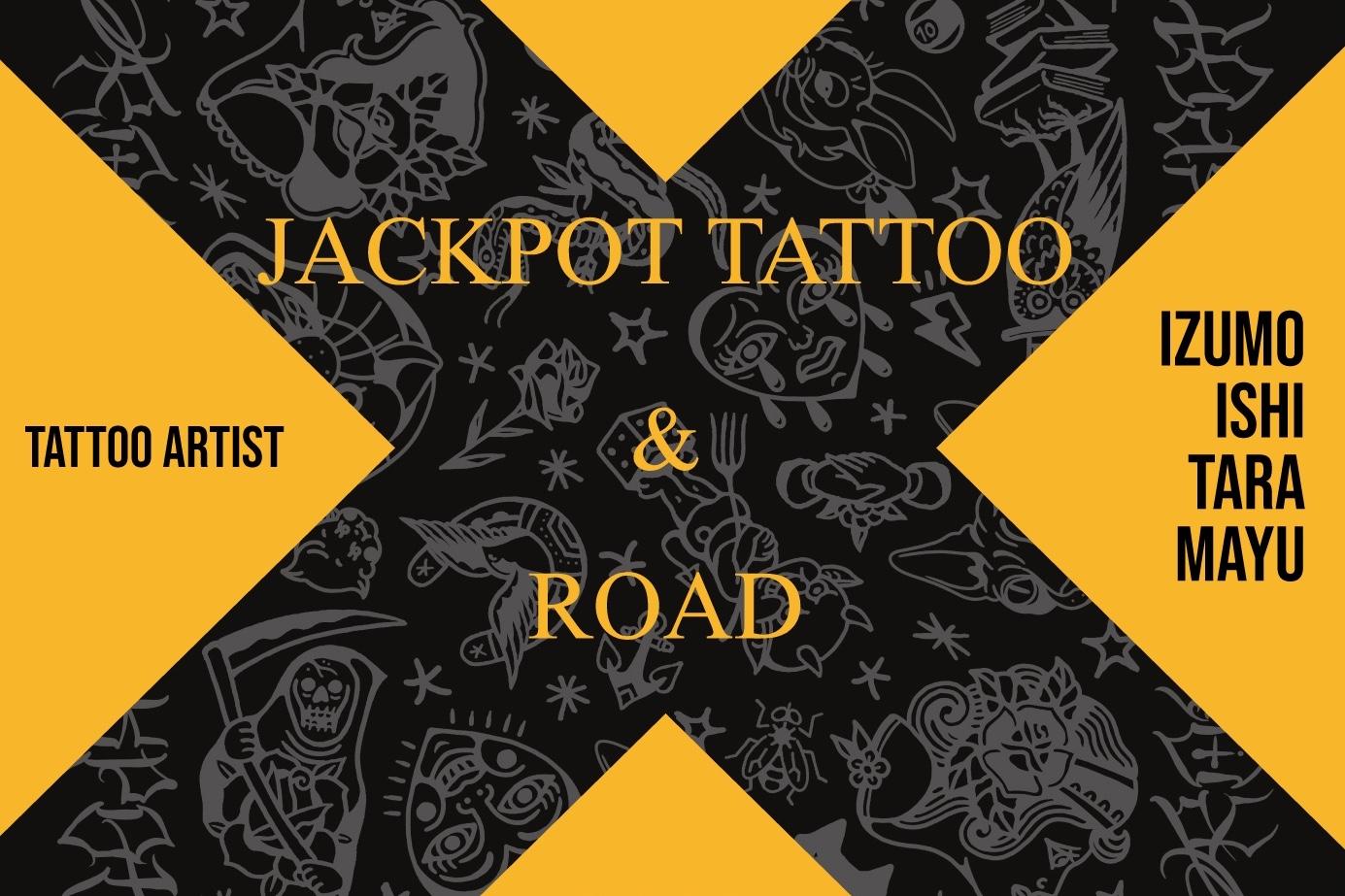 JACKPOT TATTOOとのコラボレーションイベントを開催