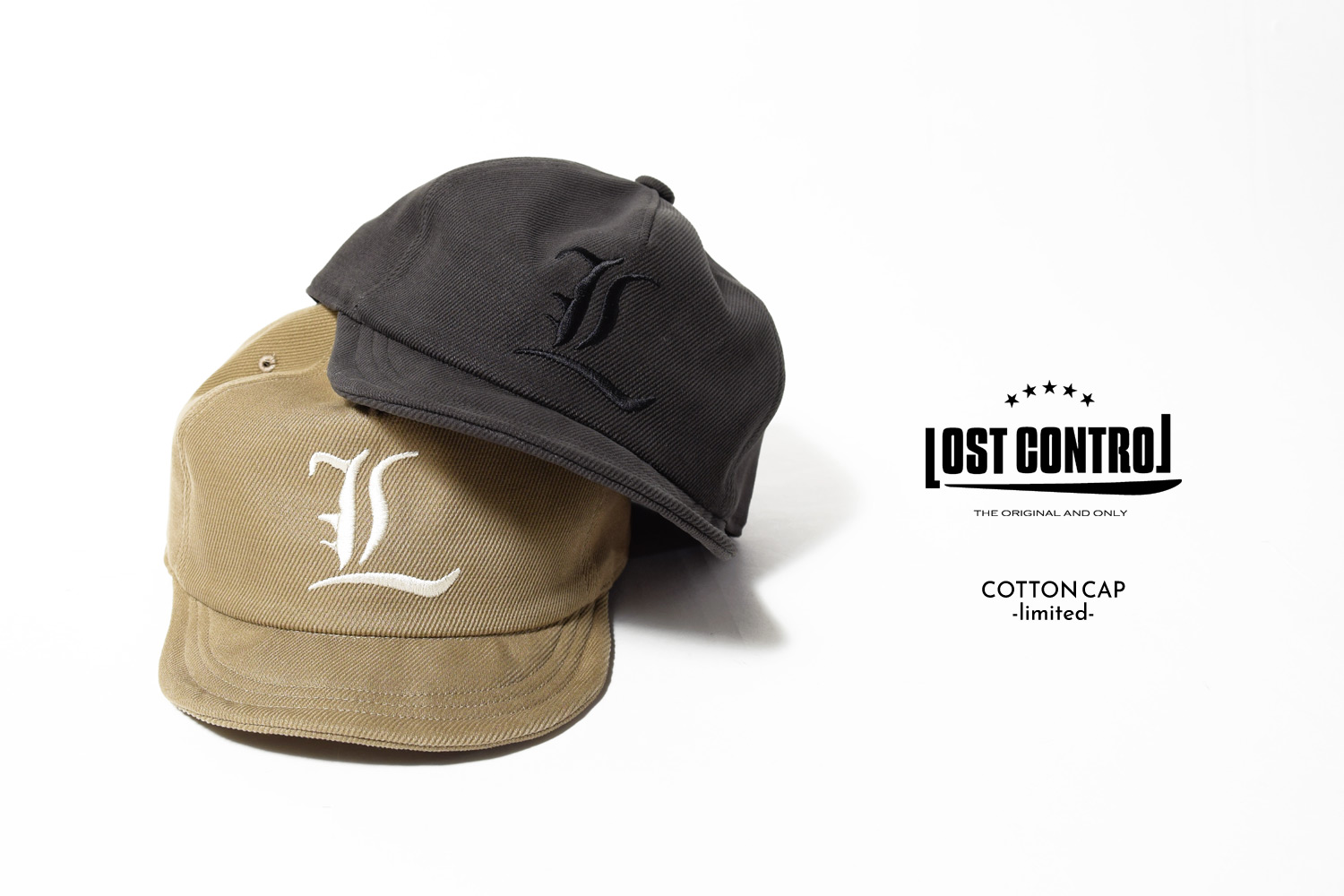 COTTON CAP -limited-