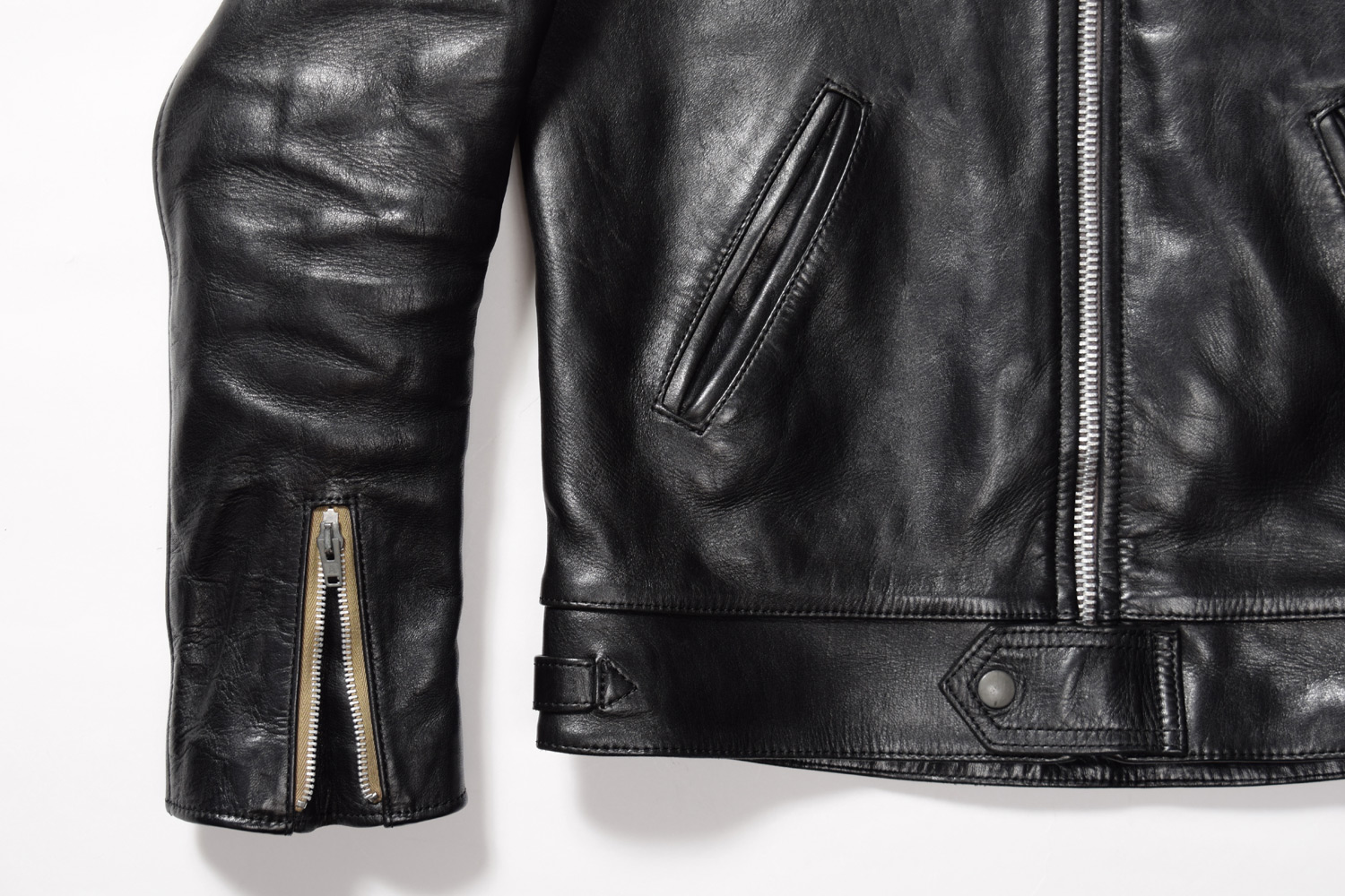 AGING of LEATHER JACKET