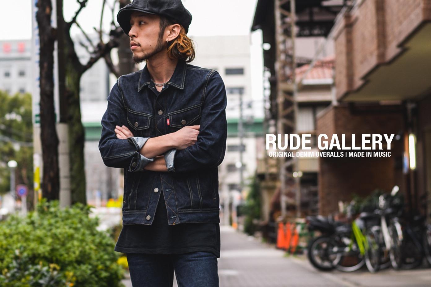 """RUDE GALLERY RIGID DENIMS """"TYPE-1″"""