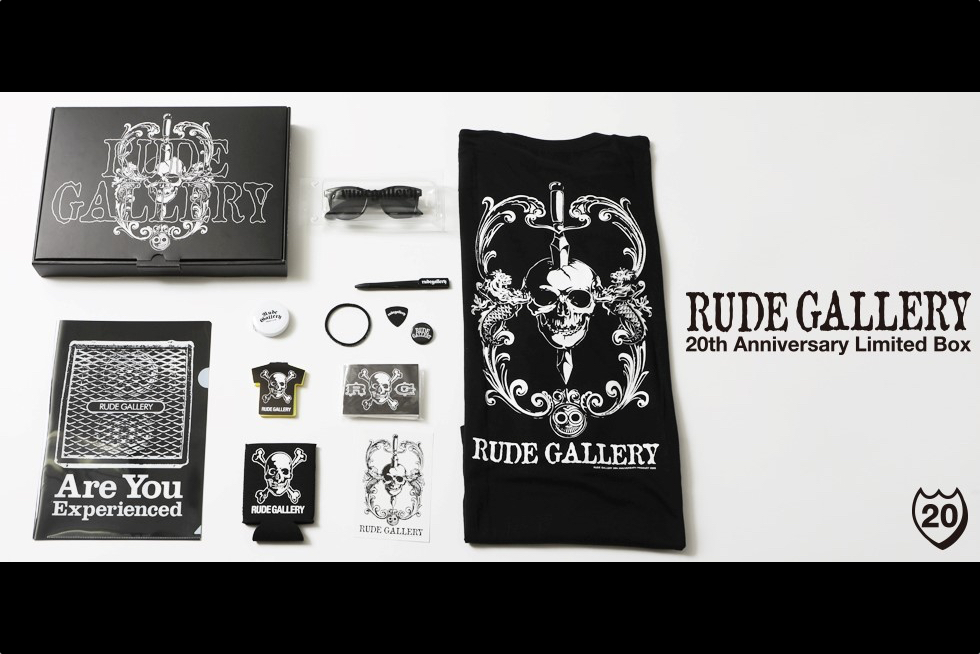RUDE GALLERYアニバーサリーボックスが発売