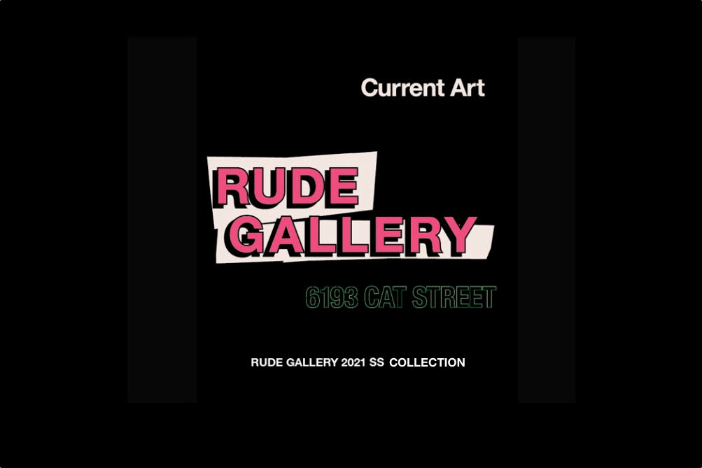 RUDE GALLERY 2021春夏新作リリース